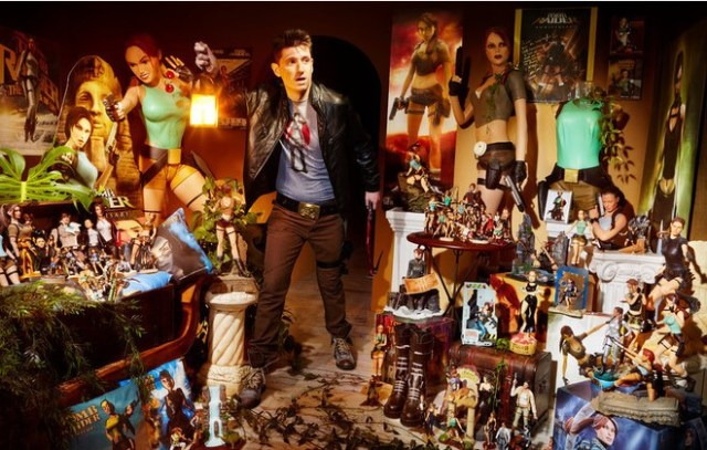 Maior coleção de objetos do Tom Raider