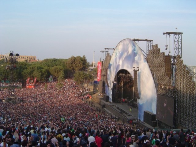 Rock in Rio Lisboa em 2004