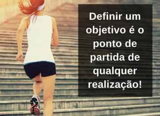 Definir um objetivo é o ponto de partida de qualquer realização! - frases de incentivo