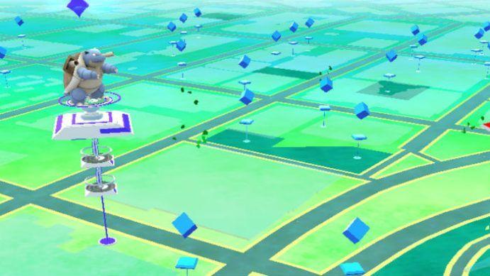 Ginásio do Pokémon GO