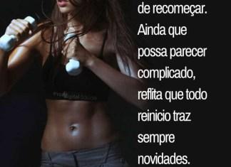 Frases de motivação - Nunca desista de recomeçar. Ainda que possa parecer... - Marta Felipe