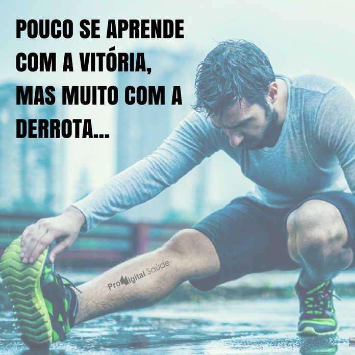 Frases de motivação - Pouco se aprende com a vitória, mas muito com a derrota... - Provérbio japonês