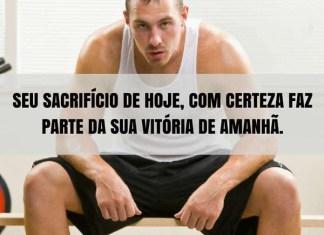 Frases de motivação - Seu sacrifício de hoje, com certeza faz parte da sua vitória de amanhã.
