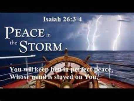 Peace In The Storm Image