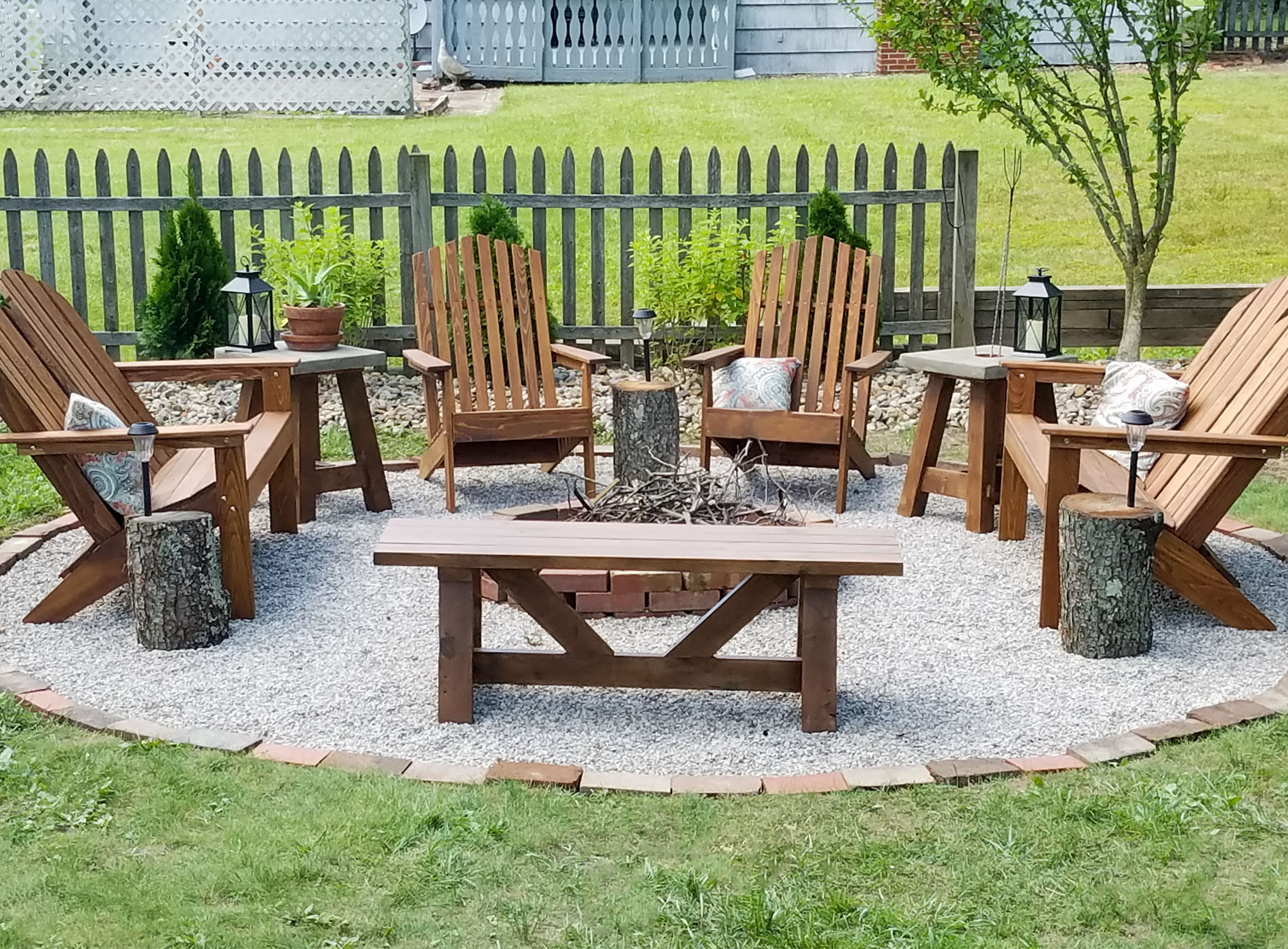 DIY Fire Pit ~ Backyard Budget Decor - Prodigal Pieces on Backyard Fire Pit Ideas Diy id=32994