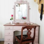 Vintage Vanity Painted A Soft Pink Prodigal Pieces
