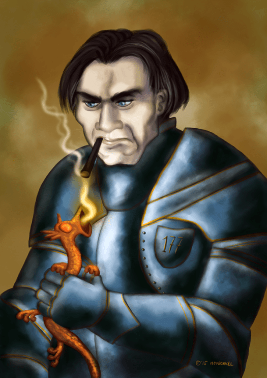 A speedpaint of Commander Vimes