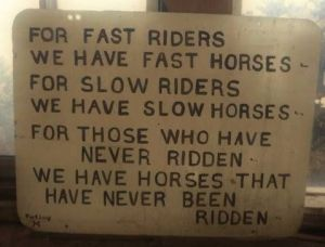 for slow riders