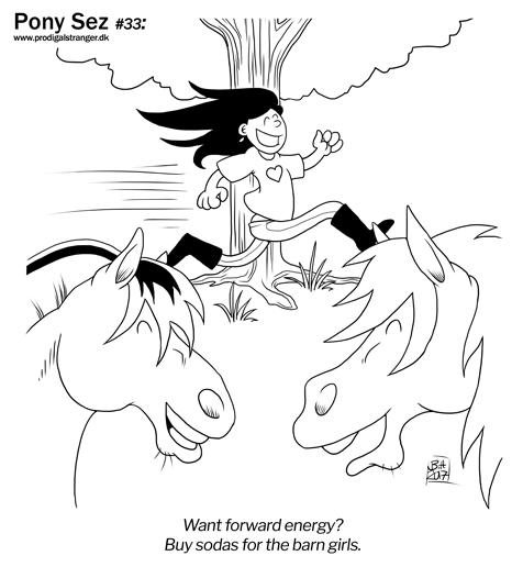 Pony Sez 33
