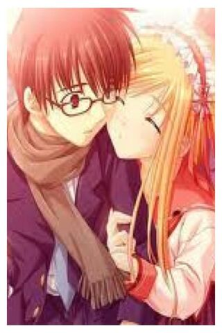 Anime Couple Wallpaper Download To Your Mobile From Phoneky