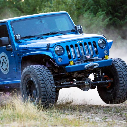 Jeep Wrangler Turbo Kit pentastar
