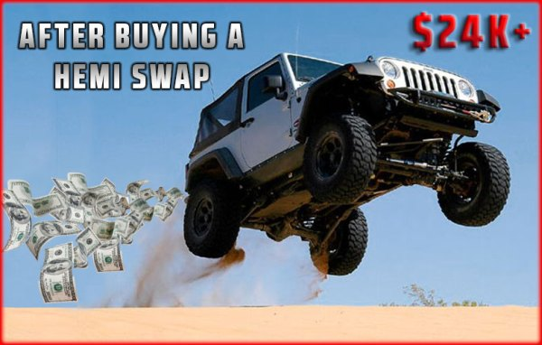 Considering A Jeep Hemi Swap? | Prodigy Performance