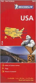 Michelin USA Road Map 761 Michelin Travel Publications Author