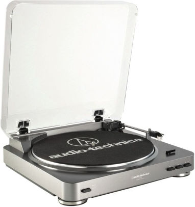 Audio Technica AT-LP60 Fully Automatic Stereo Turntable System - Gunmetal