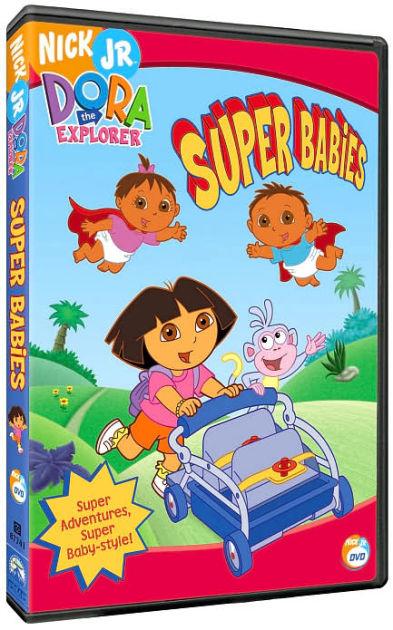 Dora The Explorer Super Babies 97368774148 DVD