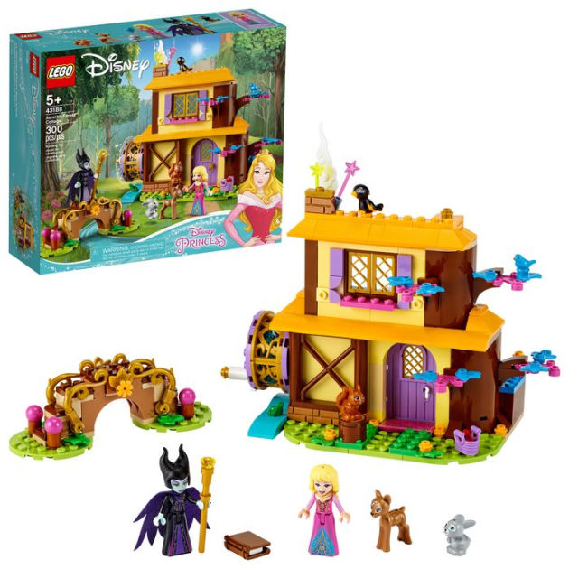 Lego Disney Princess Aurora S Forest Cottage 43188 By Lego Barnes Noble