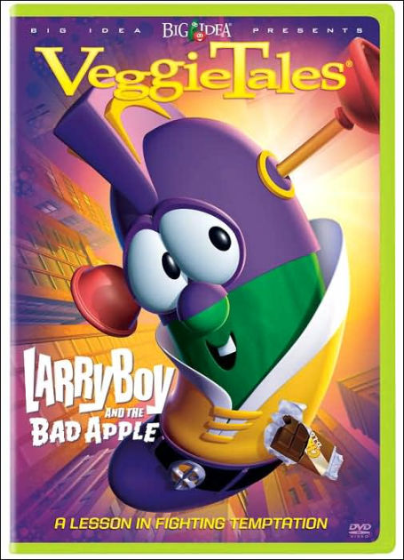 Veggie Tales Larryboy And The Bad Apple 828768261996