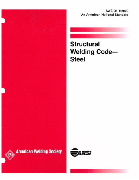 AWS D11 Structural Welding Code Steel 2000 By