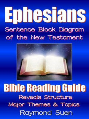 Holy Bible  Ephesians  Sentence Block Diagram Method of