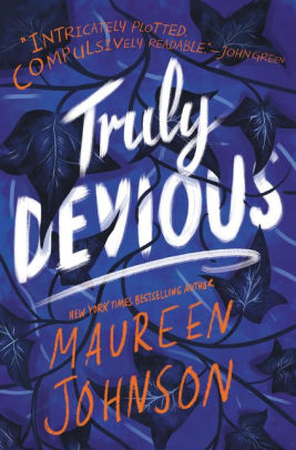 Truly Devious Book Cover