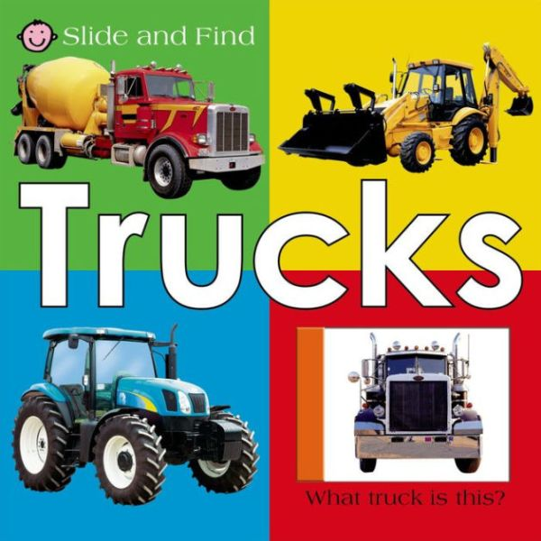 Trucks (Slide and Find Series) by Roger Priddy | NOOK Book ...