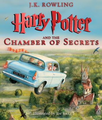 Harry Potter And The Chamber Of Secrets The Illustrated Edition Harry Potter Series