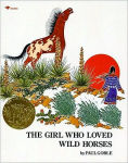 Title: The Girl Who Loved Wild Horses, Author: Paul Goble