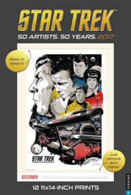 2017 Star Trek Poster Wall Calendar