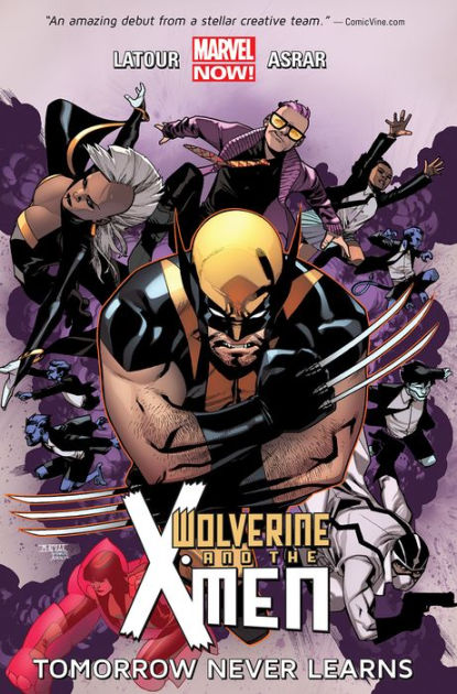 Wolverine & the X-Men, Volume 1: Tomorrow Never Learns ...
