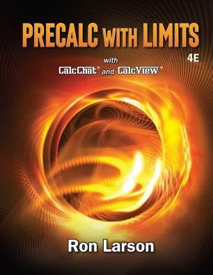 Precalculus With Limits Edition 4 By Ron Larson Paul