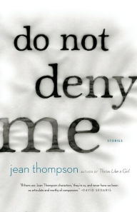 book cover: Do Not Deny Me