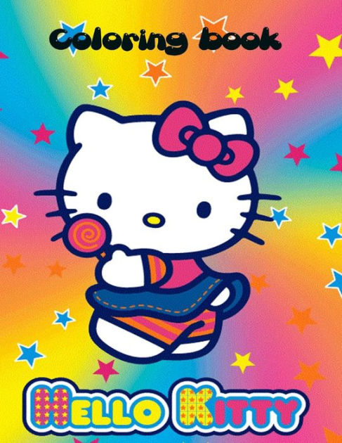 Hello Kitty Coloring Book Hello Kitty Coloring Book An A4 70 Page Coloring Book For Kids To Enjoy By S J Carney K W Design Paperback Barnes Noble