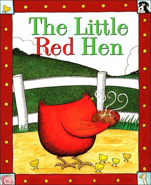 The Little Red Hen by John Escott, Annie West |, Hardcover ...