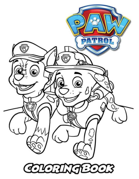 Paw Patrol Coloring Book Coloring Book For Kids And Adults Activity Book With Fun Easy And Relaxing Coloring Pages By Alexa Ivazewa Paperback Barnes Noble