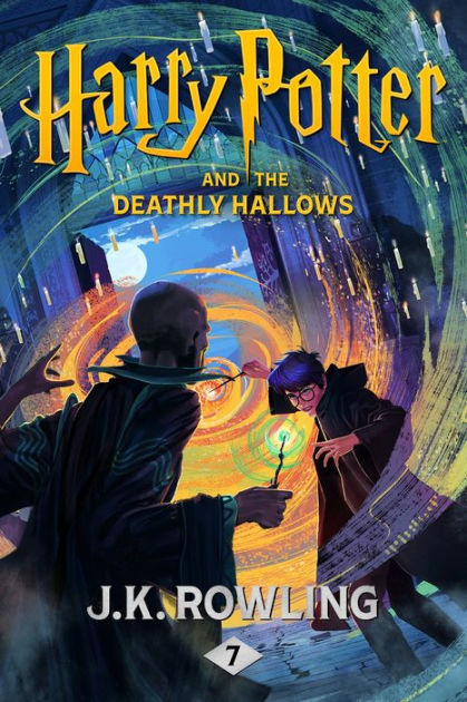 Image result for harry potter 7 cover