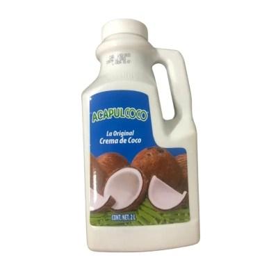 Crema de coco acpulcoco 2J