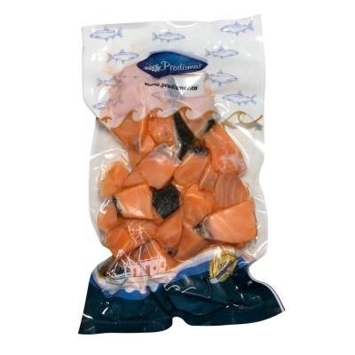 bocados de salmón