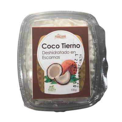 coco tierno escamas 100g