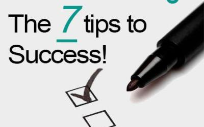 7 Simple Tips to Success