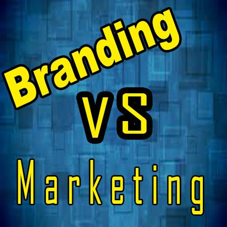 Branding VS Marketing-Do you know the difference