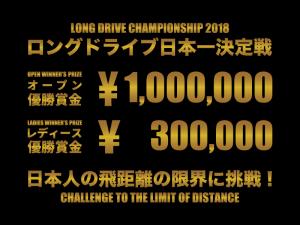 ロングドライブ日本一決定戦