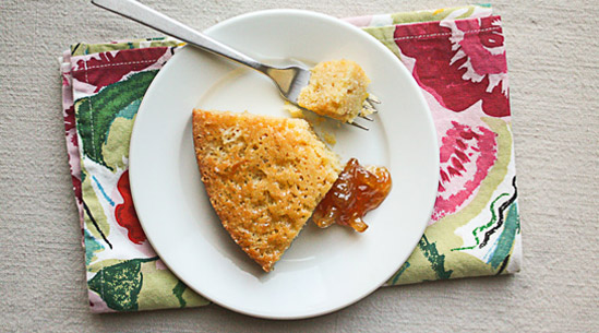 Honey Cornmeal Cake