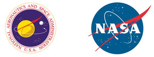 Re-design do logo da NASA | producaograficadesign