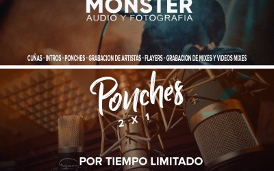 Pack de Ponches By Monster Audio