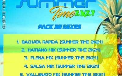 Summer Time 2K21 Pack De Mixes By Dj Allan