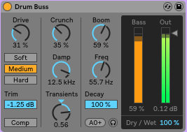 drum buss ableton live 10