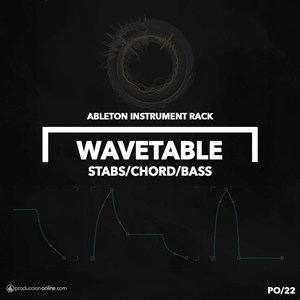 INSTRUMENT RACK DE ABLETON CON WAVETABLE