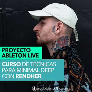proyecto ableton live minimal de rendher