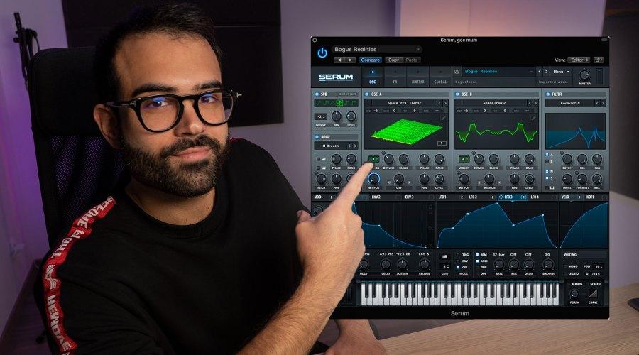 Cómo crear BAJOS de Melodic House con SERUM