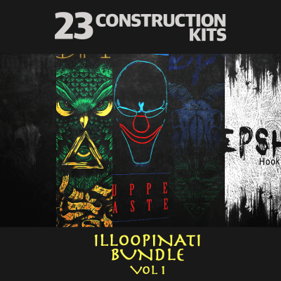 Illoopinati Bundle Vol. 1 (23 Construction Kits)